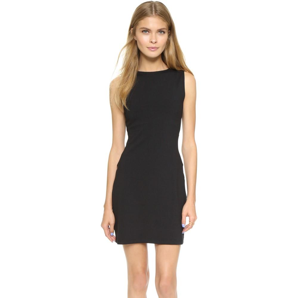 スサナモナコ Susana Monaco レディース トップス ワンピース【Slit Open Back Dress】Black