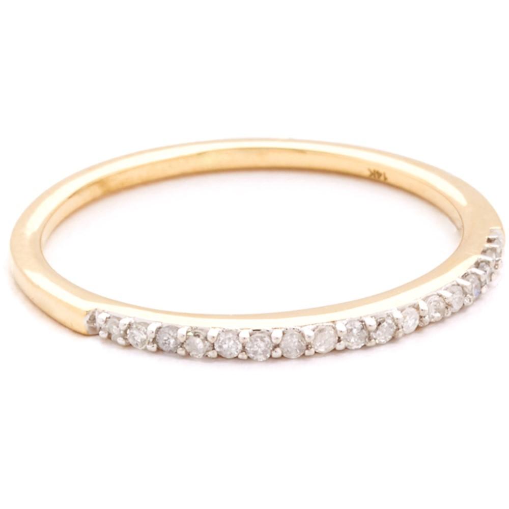 アディナレイター Adina Reyter レディース アクセサリー 指輪【Pave Band Ring】Gold