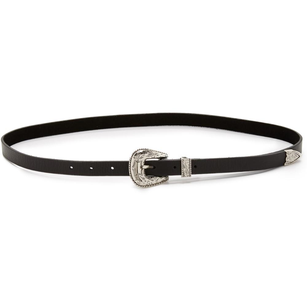 ビーロウザベルト B-Low The Belt レディース アクセサリー ベルト【Baby Frank Belt】Black/Silver