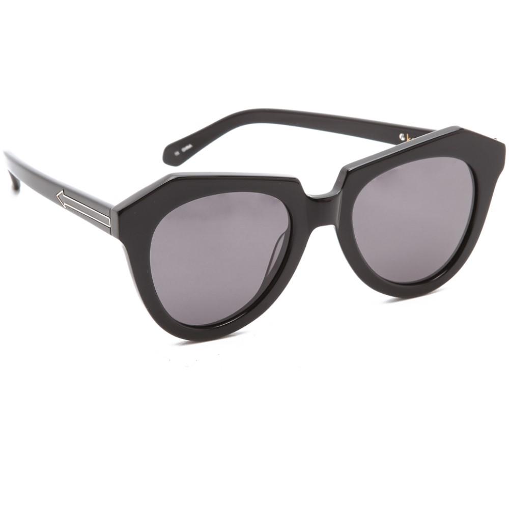 カレンウォーカー Karen Walker レディース アクセサリー メガネ・サングラス【Number One Sunglasses】Black/Smoke Mono