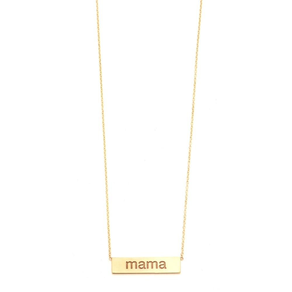 ゾイチッコ Zoe Chicco レディース アクセサリー ネックレス【Mama Necklace】Gold