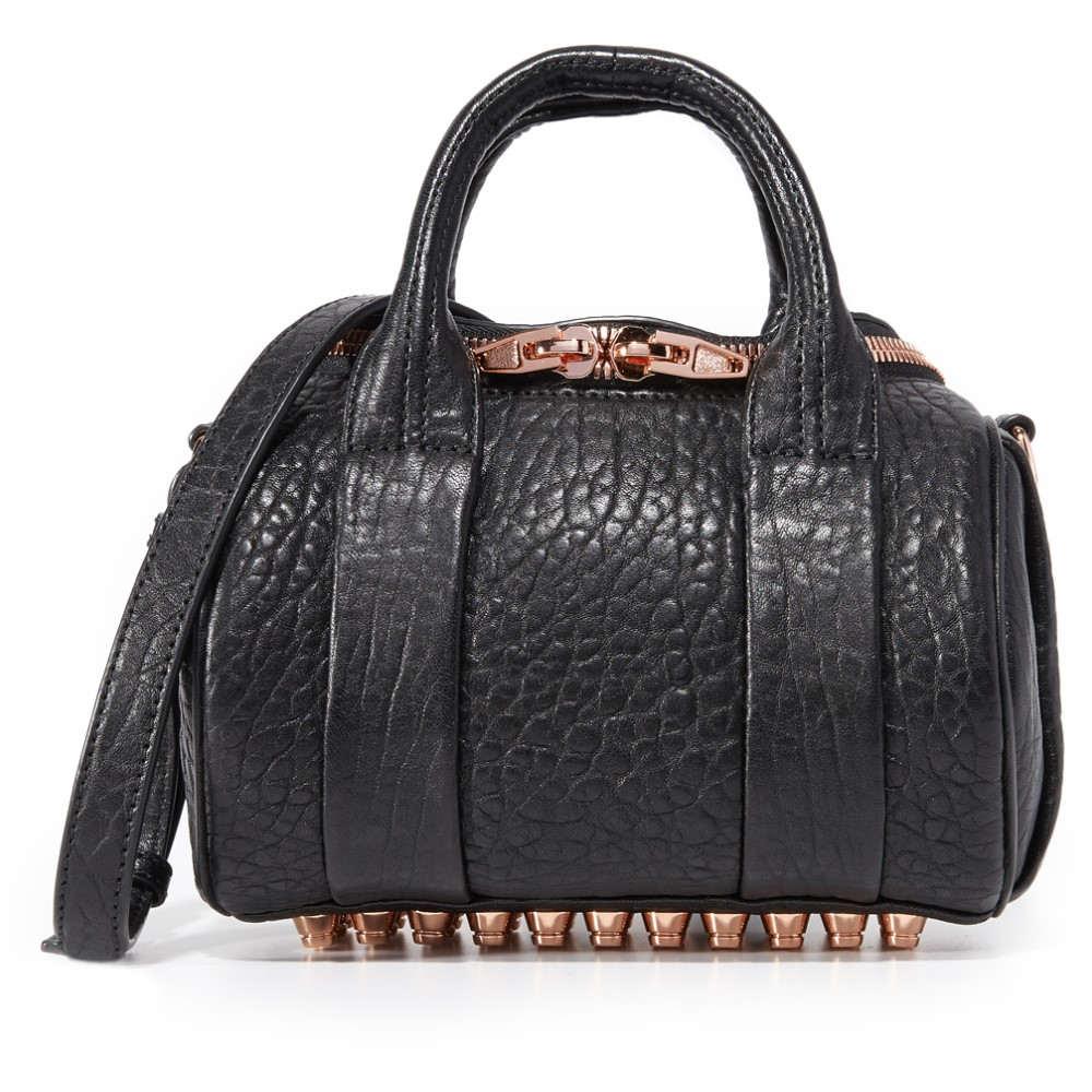 アレキサンダーワン Alexander Wang レディース バッグ ショルダーバッグ【Mini Rockie Bag】Black