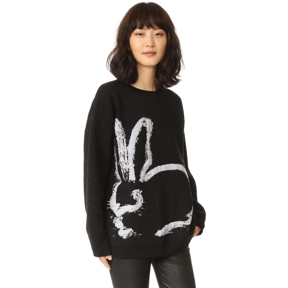 グレイジェイソンウー Grey Jason Wu レディース トップス ニット・セーター【Bunny Sweater】Black/Light Grey