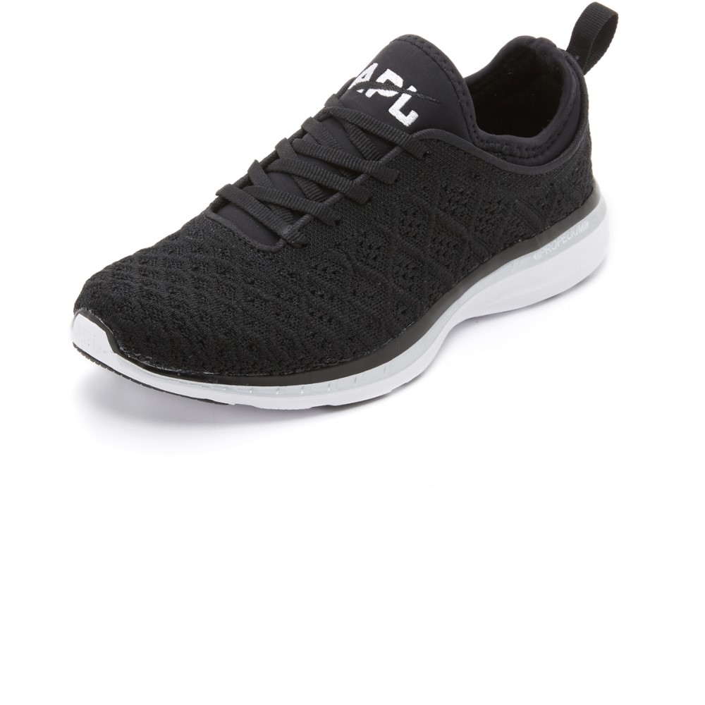 APL APL: Athletic Propulsion Labs レディース シューズ・靴 スニーカー【Techloom Phantom Sneakers】Black/Metallic Silver