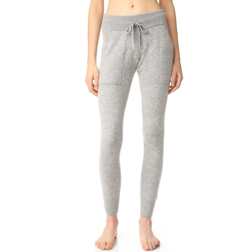 ホワイトプラスウォーレン White + Warren レディース インナー パジャマ・ボトムのみ【Essential Cashmere Pants】Grey Heather