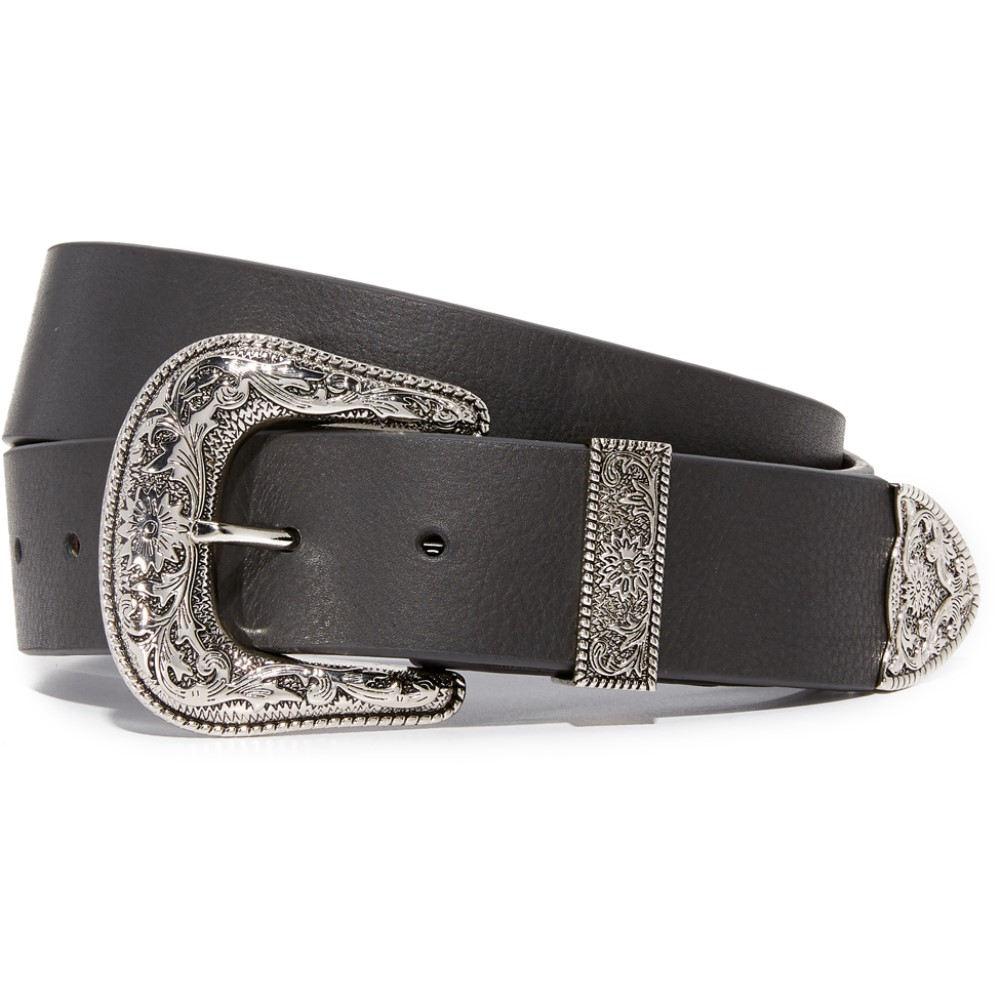 ビーロウザベルト B-Low The Belt レディース アクセサリー ベルト【Frank Belt】Black/Silver