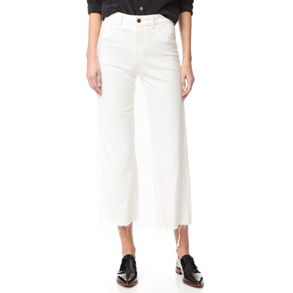 ディーエル1961 DL1961 レディース ボトムス ジーンズ【Hepburn High Rise Wide Leg Jeans】Eggshell