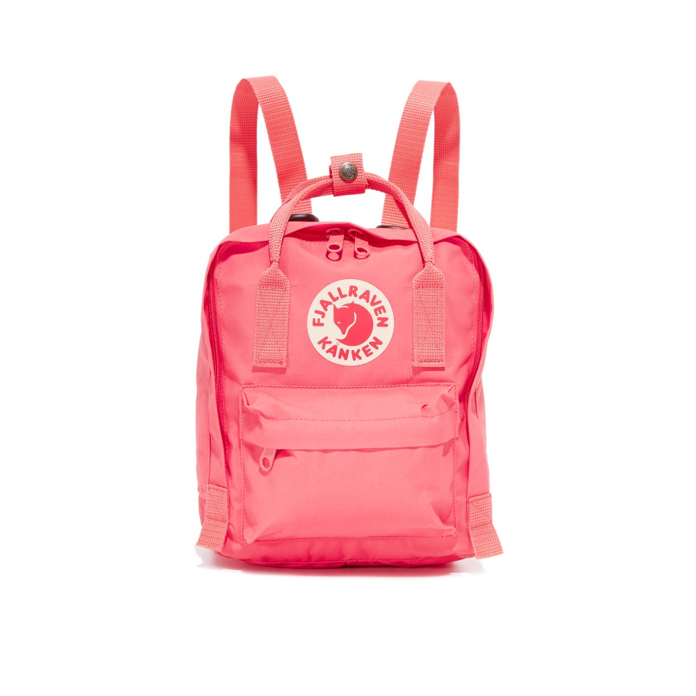 フェールラーベン Fjallraven レディース バッグ バックパック・リュック【Kanken Mini Backpack】Peach Pink