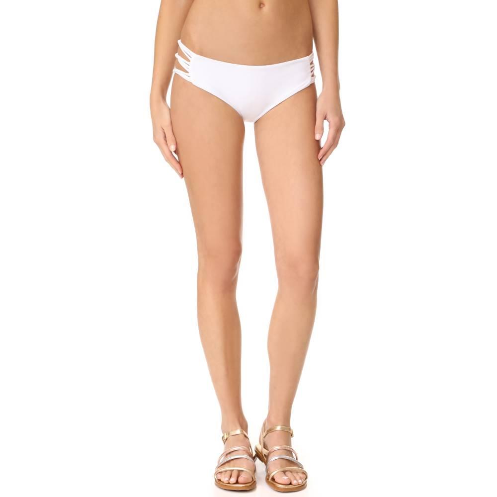 ミコー MIKOH レディース 水着 ボトムのみ【Barcelona Skinny String Bikini Bottoms】Foam