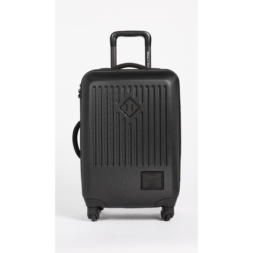 ハーシェル サプライ レディース バッグ スーツケース・キャリーバッグ【Trade Small Suitcase】Black