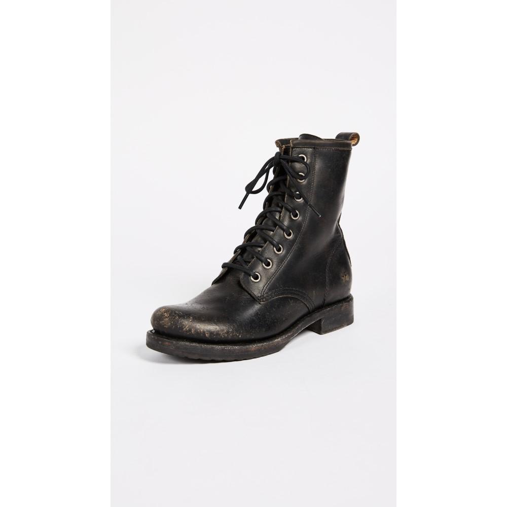 フライ レディース シューズ・靴 ブーツ【Veronica Combat Boots】Black
