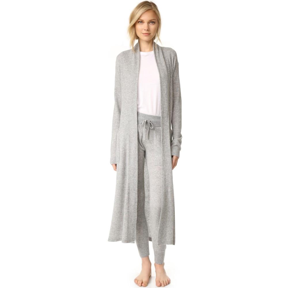 ホワイトウォーレン レディース インナー・下着 ガウン・バスローブ【Luxe Cashmere Robe】Grey Heather
