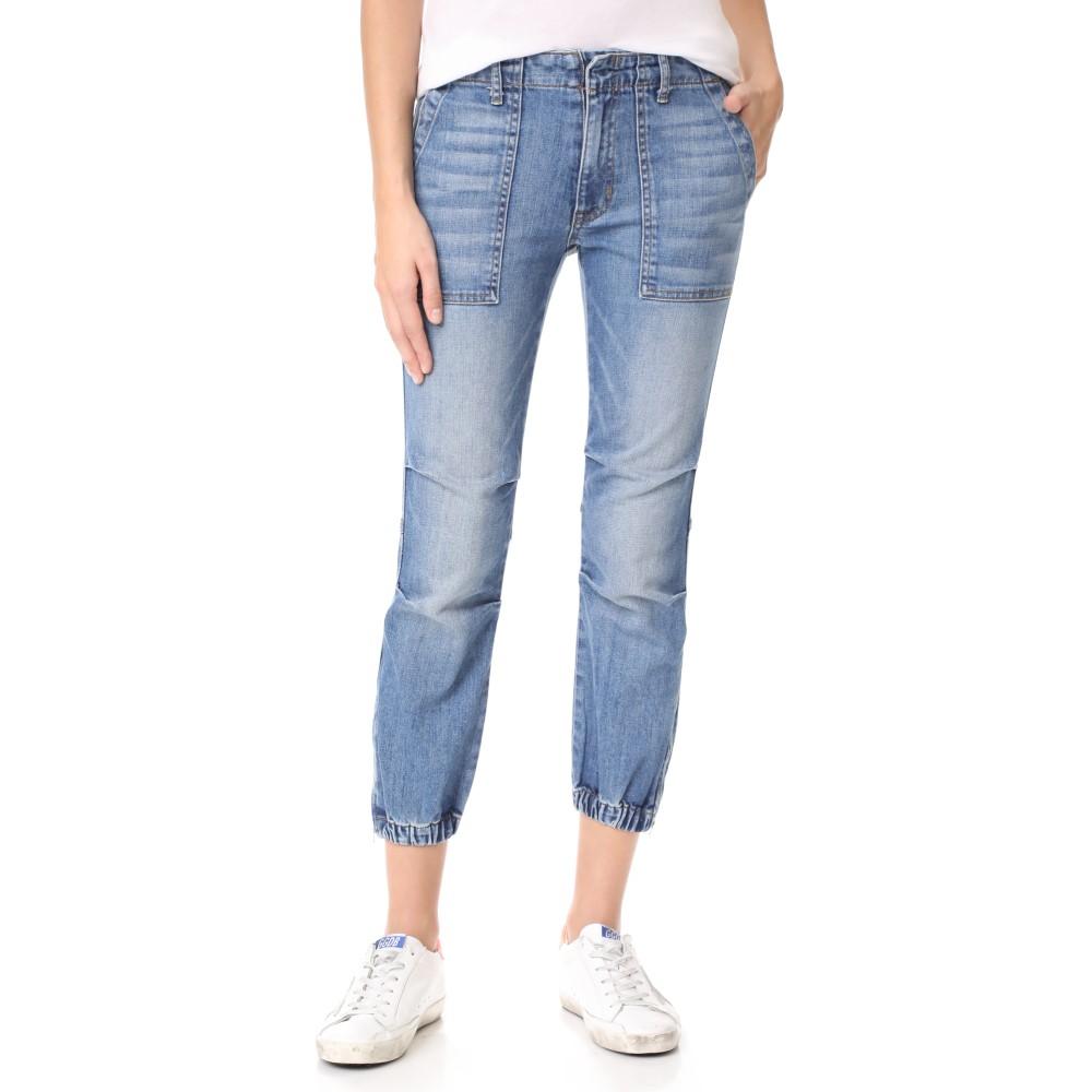 ニリ ロータン レディース ボトムス・パンツ ジーンズ・デニム【Cropped French Military Jeans】Duane Wash