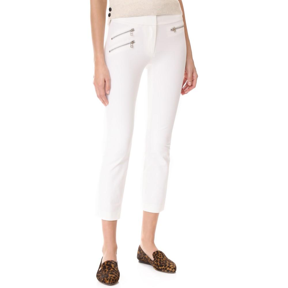 ヴェロニカ ベアード レディース ボトムス・パンツ スキニー・スリム【Roxy Ankle Length Pants】White