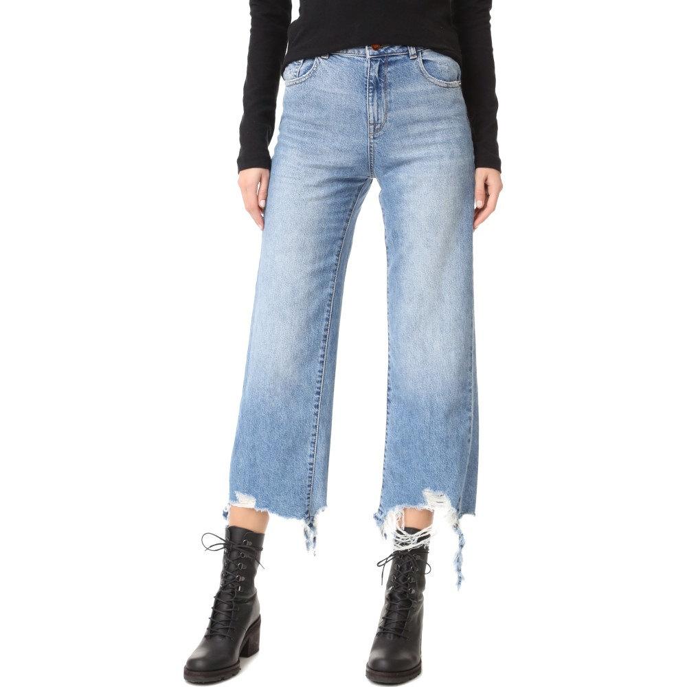 ディーエル1961 レディース ボトムス・パンツ ジーンズ・デニム【Hepburn High Rise Wide Leg Jean】Slate