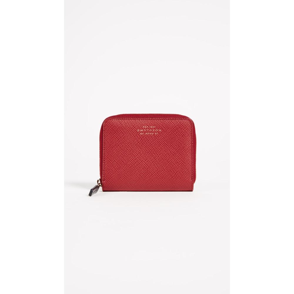 スマイソン レディース 財布【Panama Zip Coin Purse】Red