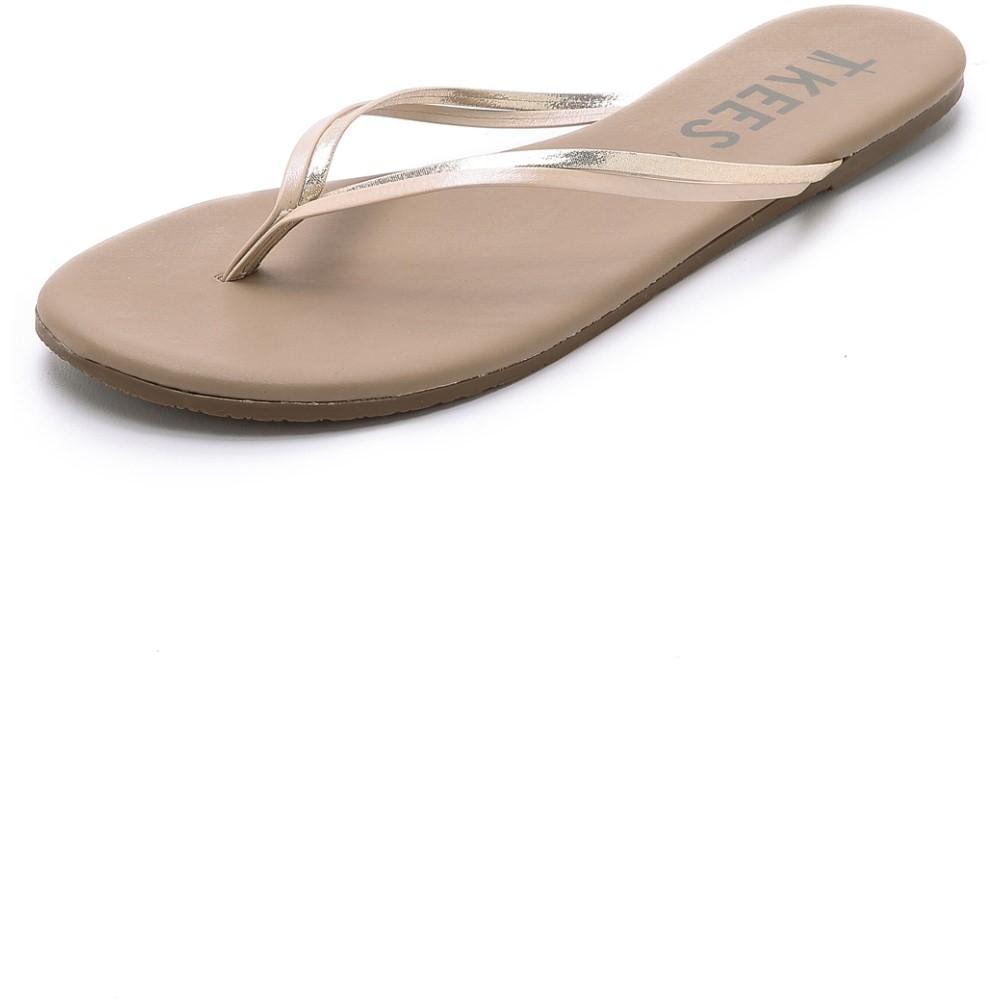 ティキーズ レディース シューズ・靴 ビーチサンダル【Duos Flip Flops】Oyster Shell