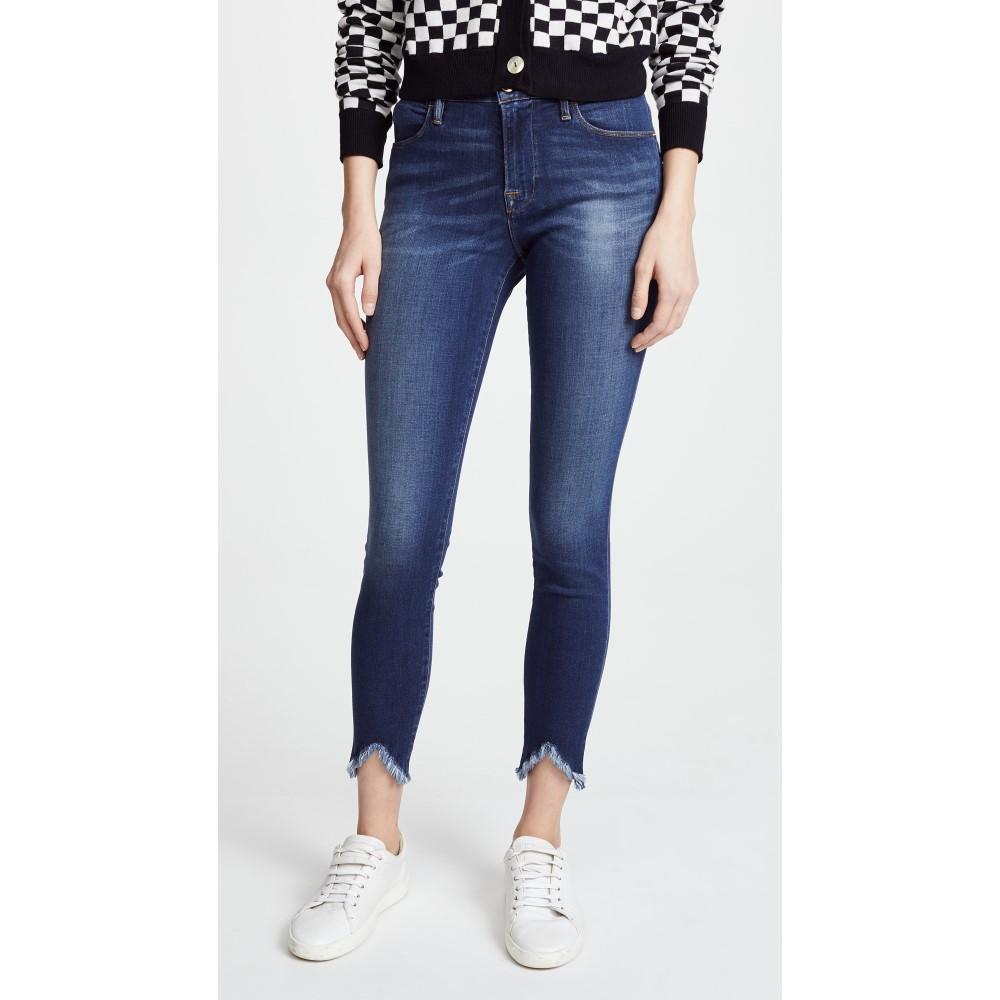 フレーム レディース ボトムス・パンツ レディース ジーンズ フレーム・デニム【Le High Jeans Skinny Jeans with Triangle Hem】Sulham, ミヤギムラ:d277e013 --- vietwind.com.vn