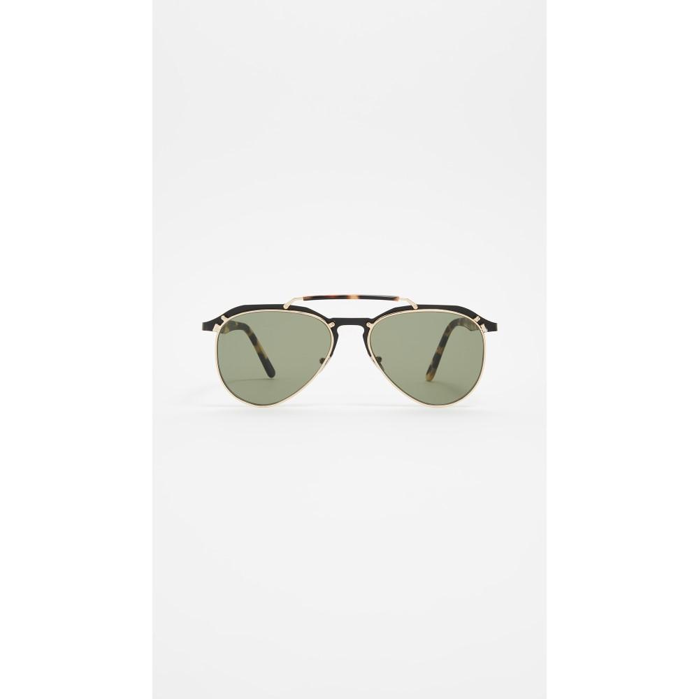 エルジーアール レディース メガネ・サングラス【Sicarius Sunglasses】Havana/Green