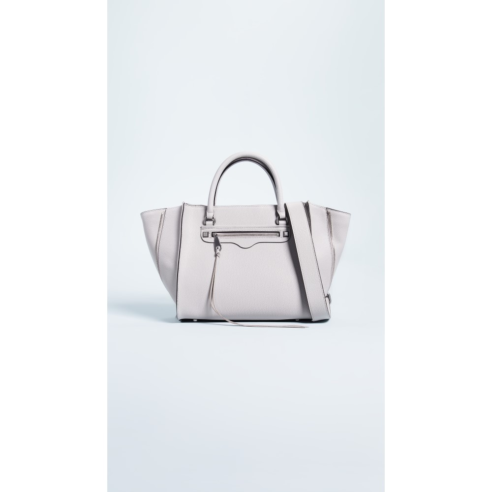 レベッカ ミンコフ レディース バッグ トートバッグ【Side Zip Medium Regan Tote Bag】Putty