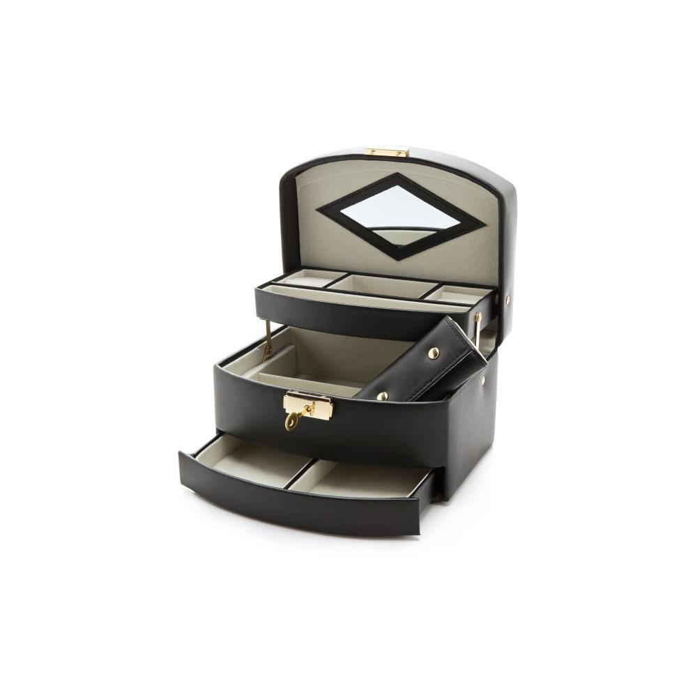 ギフトブティック レディース 雑貨【Three Level Jewelry Box】Black