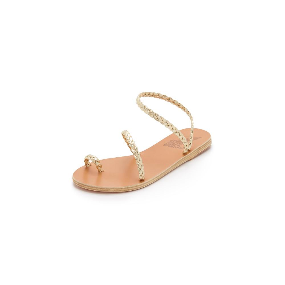 エンシェント グリーク サンダルズ レディース シューズ・靴 サンダル・ミュール【Eleftheria Sandals】Platinum
