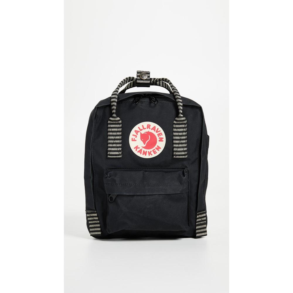 フェールラーベン レディース バッグ バックパック・リュック【Kanken Mini Backpack】Black/Striped