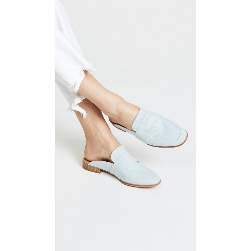 フリーピープル レディース シューズ・靴 ローファー・オックスフォード【At Ease Loafers】Washed Denim