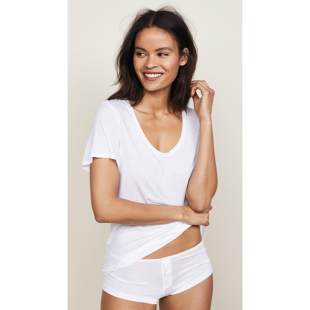 キキ ド モンパルナス レディース トップス Tシャツ【Intime T-Shirt】Classic White
