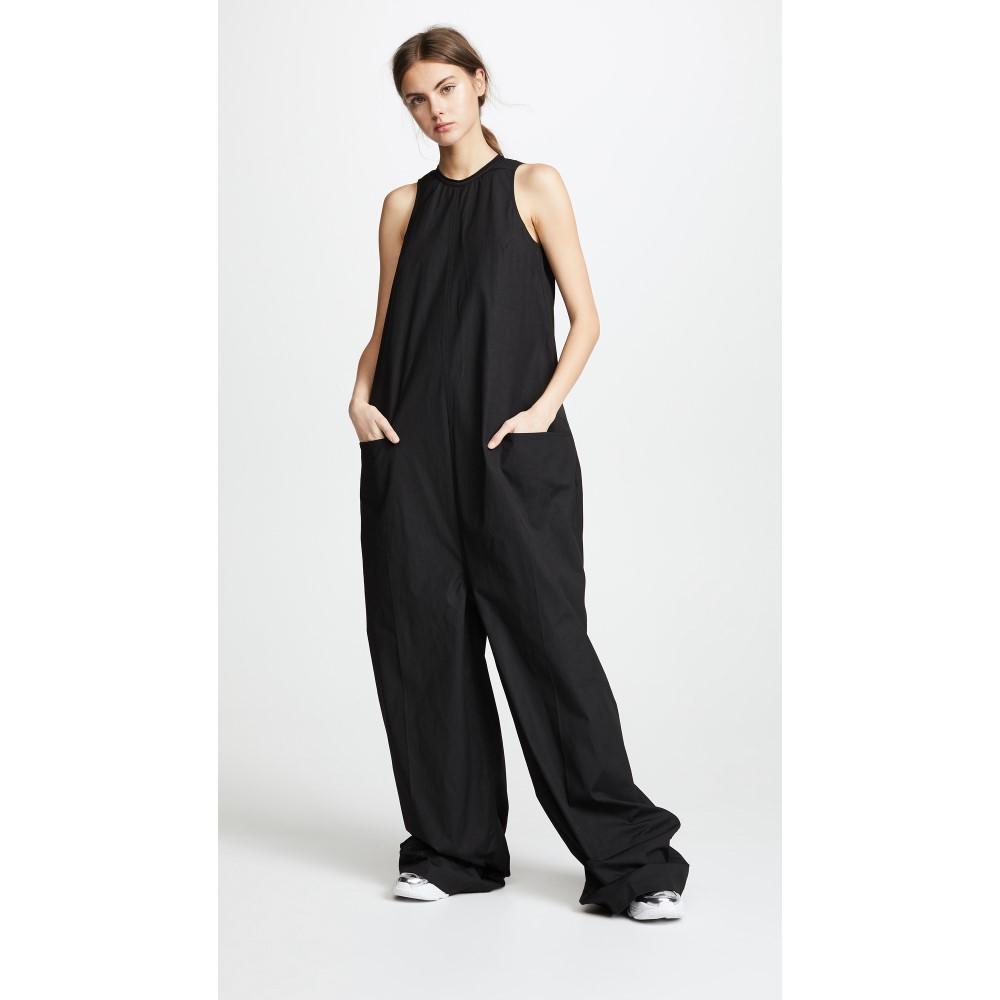 リック オウエンス レディース ワンピース・ドレス オールインワン【Sleeveless Jumpsuit】Black
