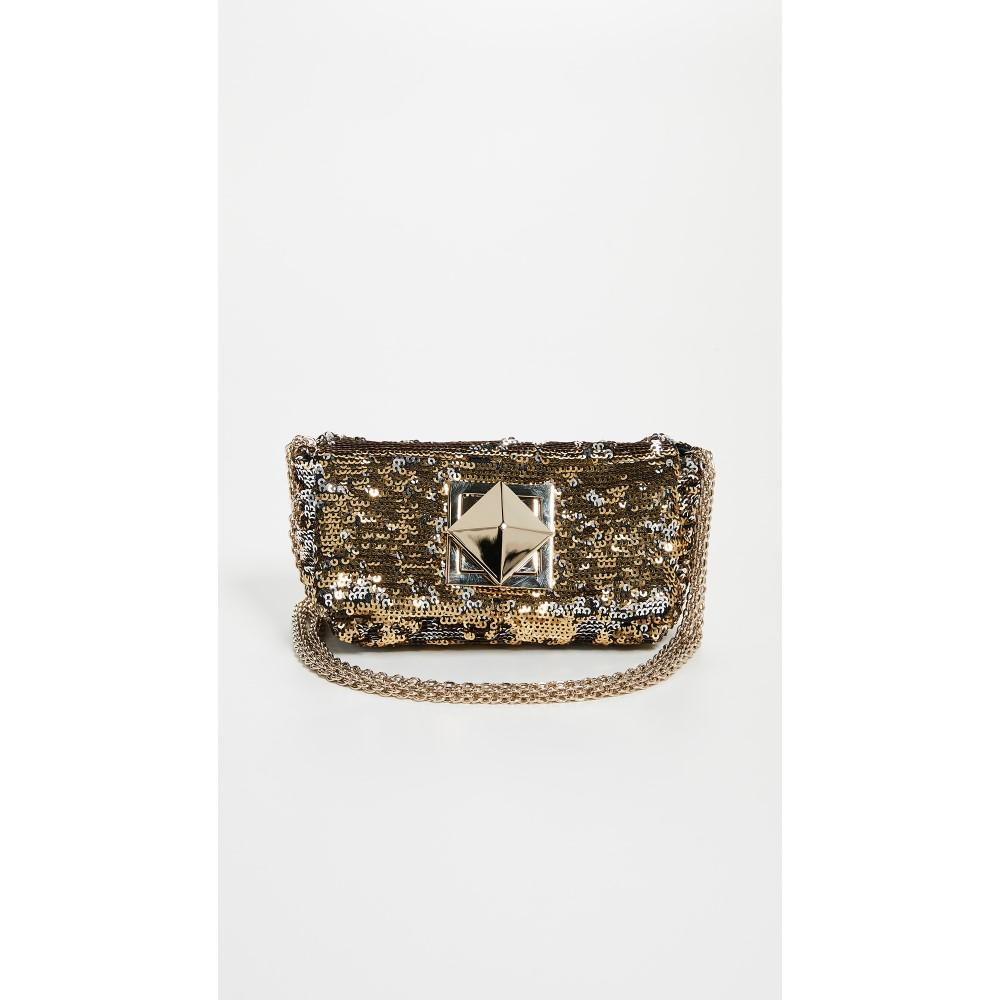 ソニア リキエル レディース バッグ ショルダーバッグ【Sequin Shoulder Bag】Gold