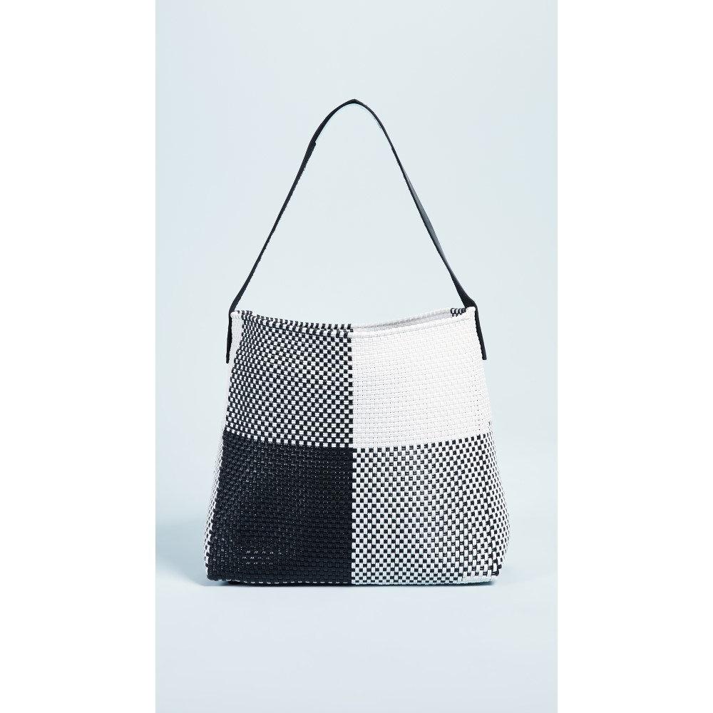 トラス レディース バッグ ショルダーバッグ【Medium Handwoven Shoulder Bag】Black Multi