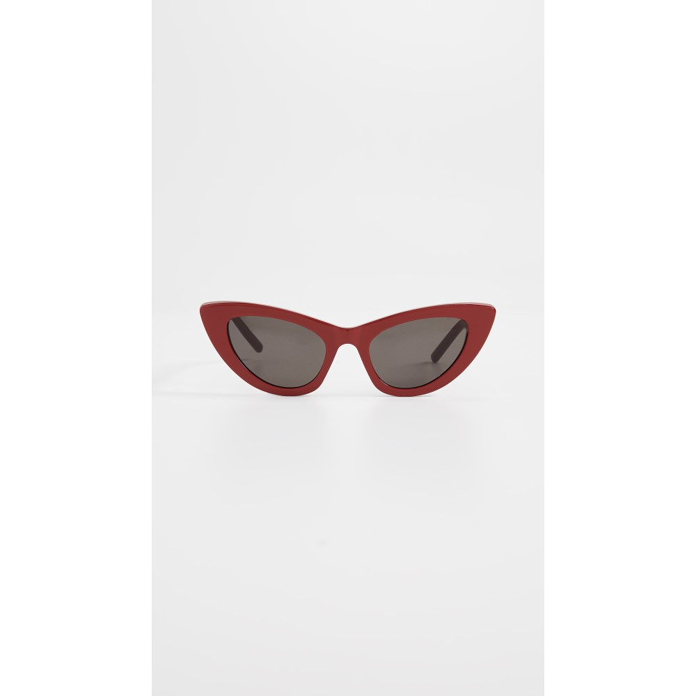 イヴ サンローラン レディース メガネ・サングラス【SL 213 Lily Sunglasses】Red/Solid Grey