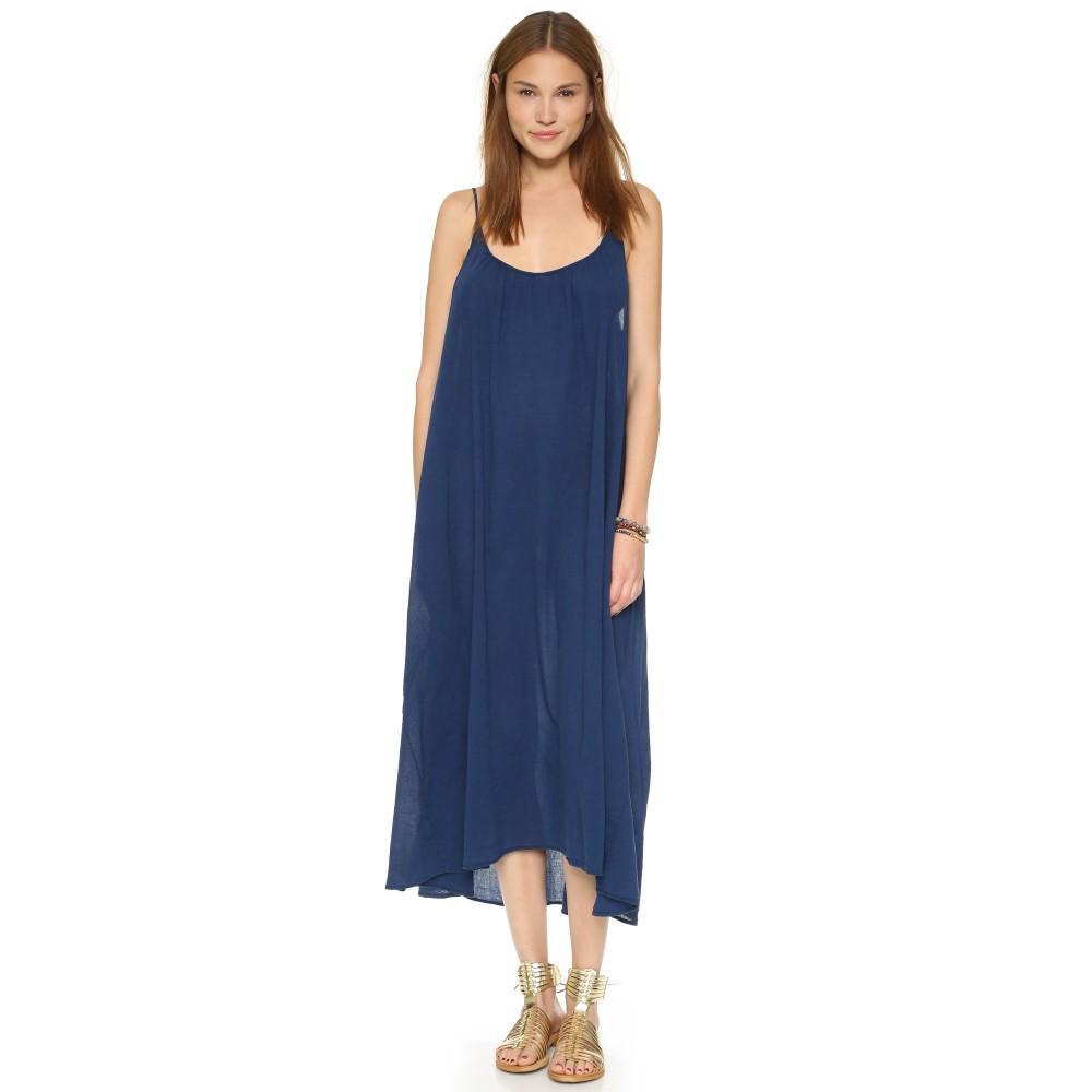 ナインシード レディース 水着・ビーチウェア ビーチウェア【Tulum Cover Up Dress】Pacific