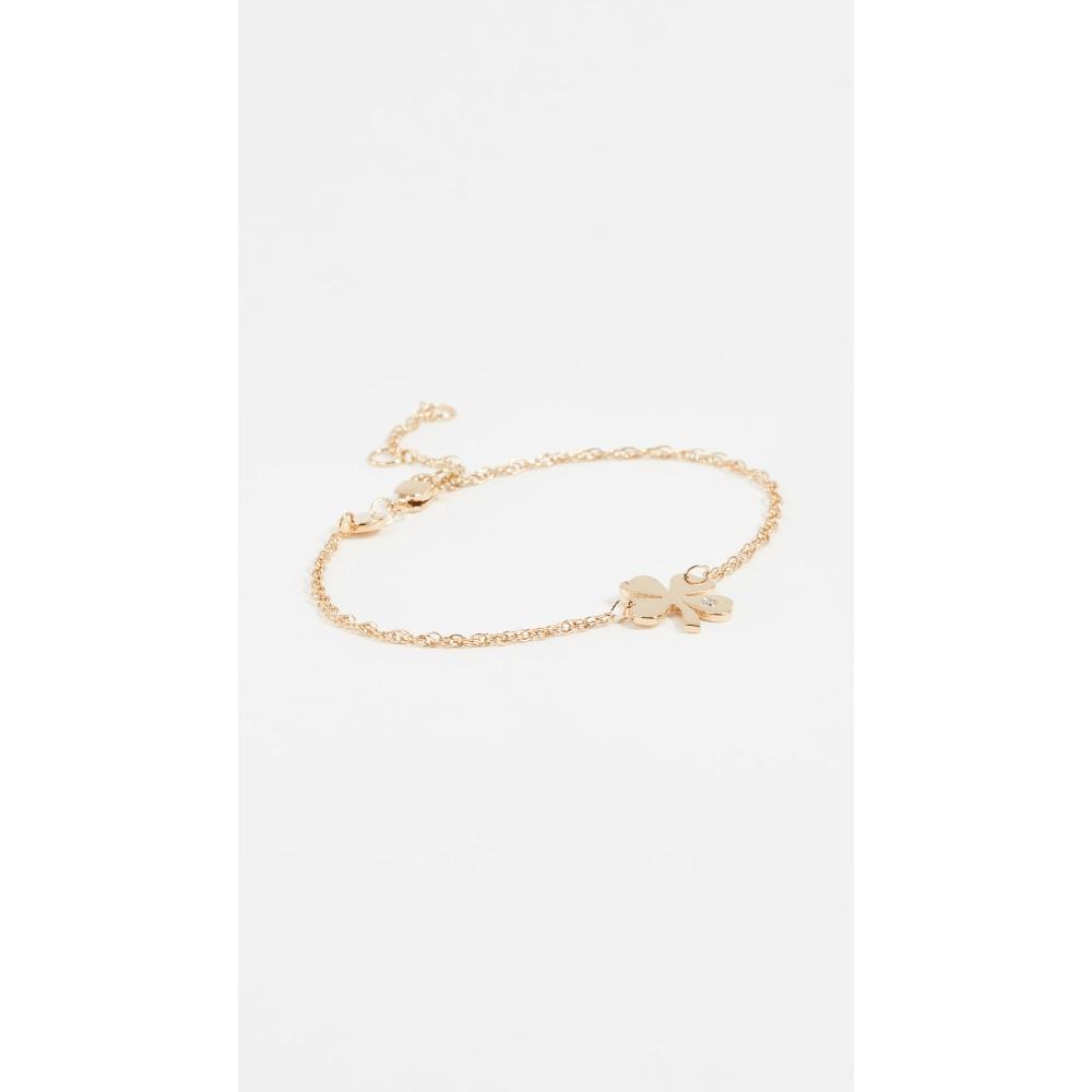 ジェニファーズーナー レディース ジュエリー・アクセサリー ブレスレット【Mini Clover Bracelet】Gold