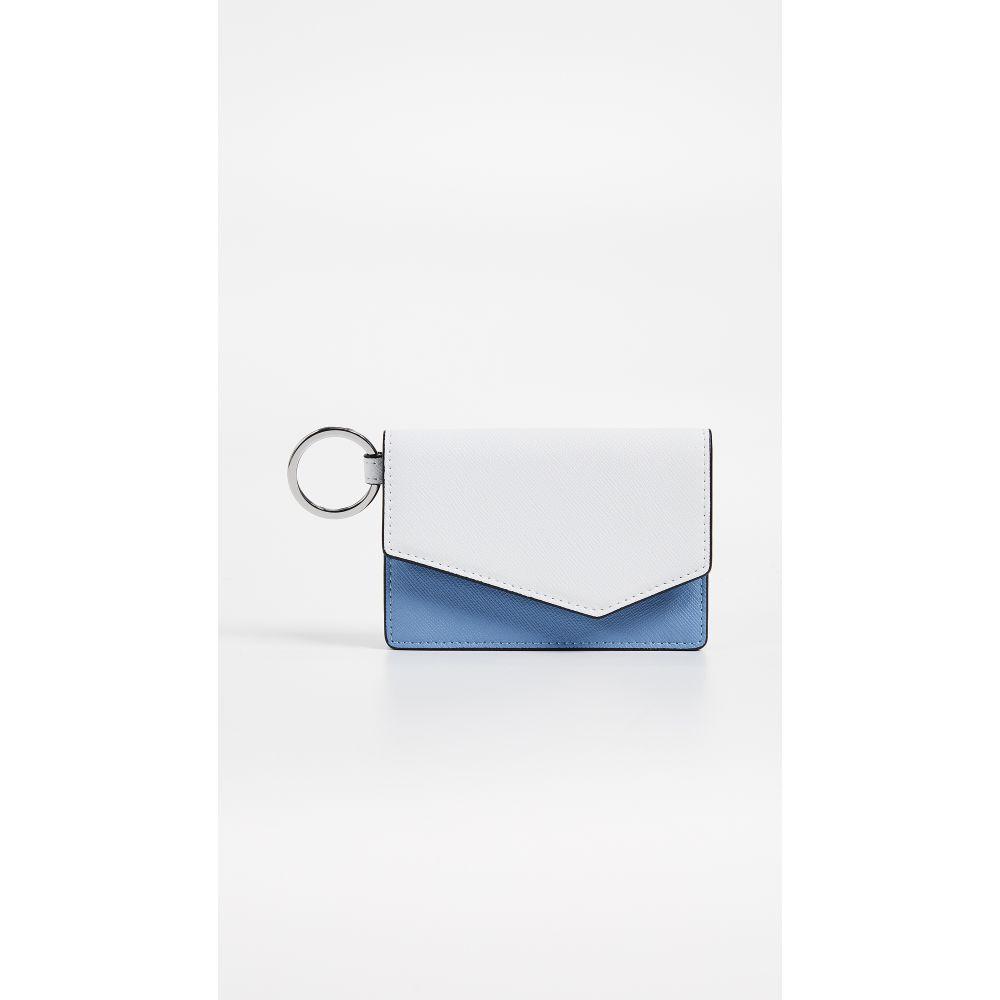 ボトキエ レディース カードケース・名刺入れ【Cobble Hill Card Case】Sky Colorblock
