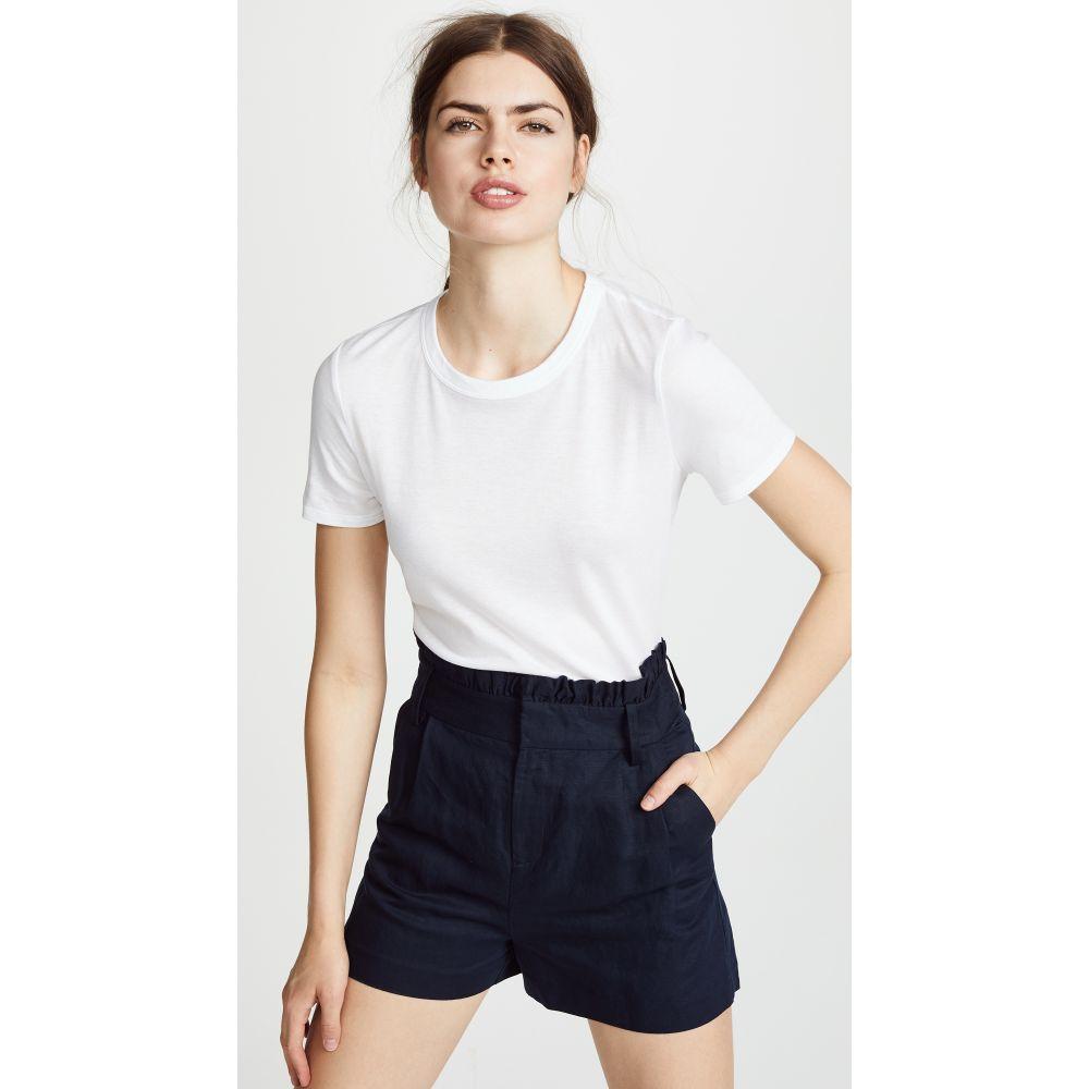ヴェロニカ ベアード レディース トップス Tシャツ【Lauren Crew Neck Tee】White