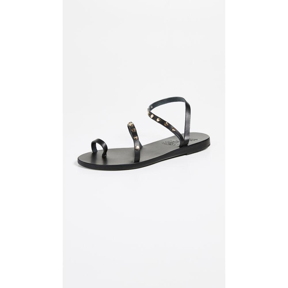 エンシェント グリーク サンダルズ レディース シューズ・靴 サンダル・ミュール【Apli Eleftheria Slide Sandals】Black