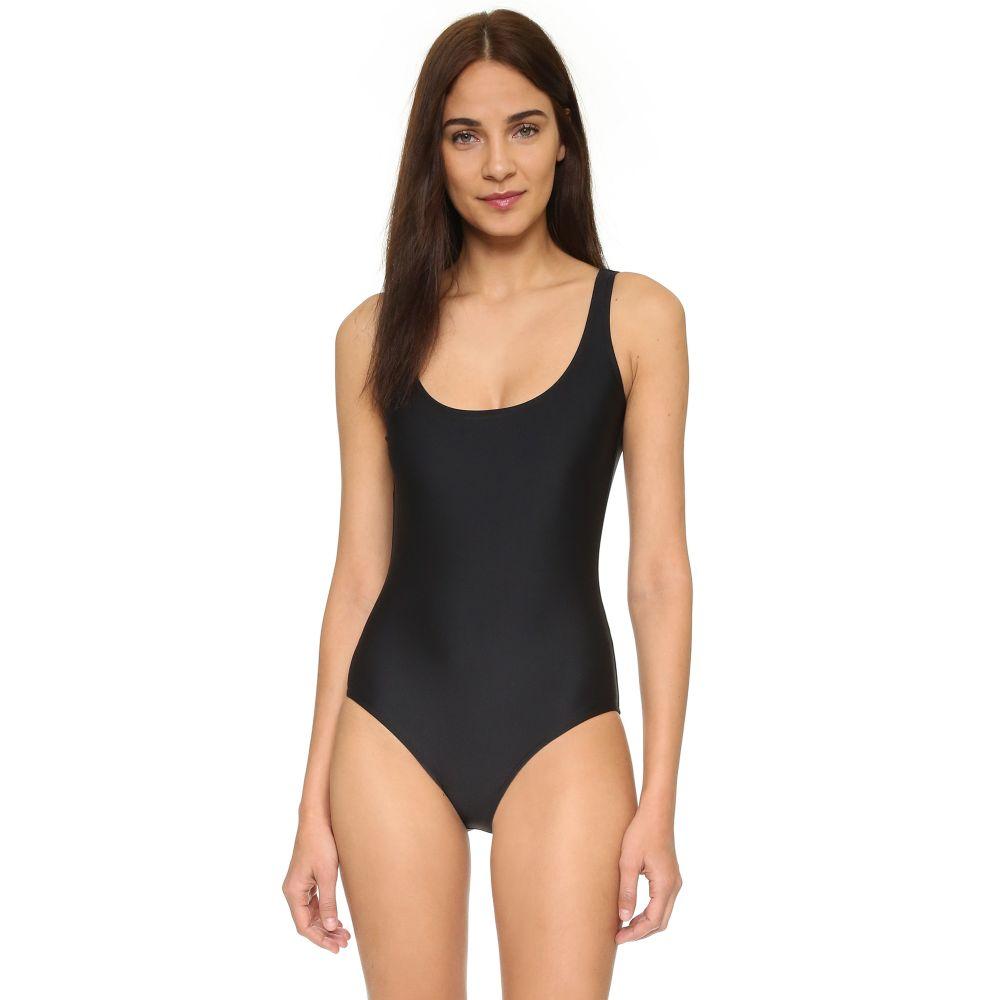 カバー レディース 水着・ビーチウェア ワンピース【Tank Swimsuit】Black