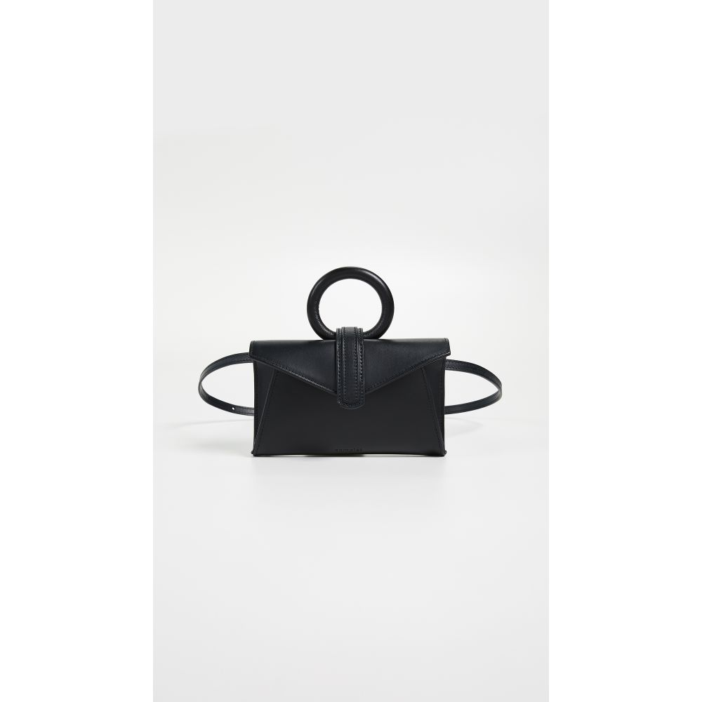 コンプリートリー レディース バッグ ボディバッグ・ウエストポーチ【Valery Micro Belt Bag】Black