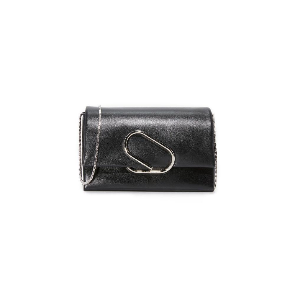 スリーワン フィリップ リム レディース バッグ ショルダーバッグ【Alix Flap Shoulder Bag】Black