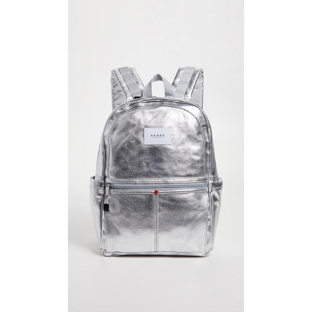 ステート レディース バッグ バックパック・リュック【Kane Downtown Backpack】Silver