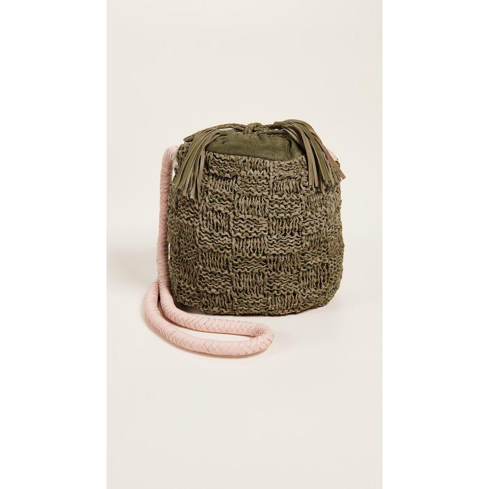 ソフィーアンダーソン レディース バッグ ショルダーバッグ【Adia Small Bucket Bag】Green/Pink