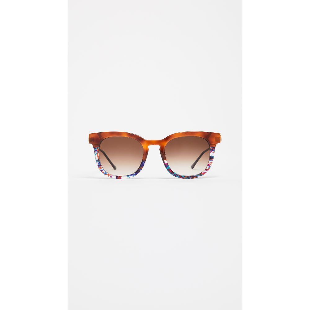 ティエリー ラスリー レディース メガネ・サングラス【Penalty Sunglasses】Multi/Brown