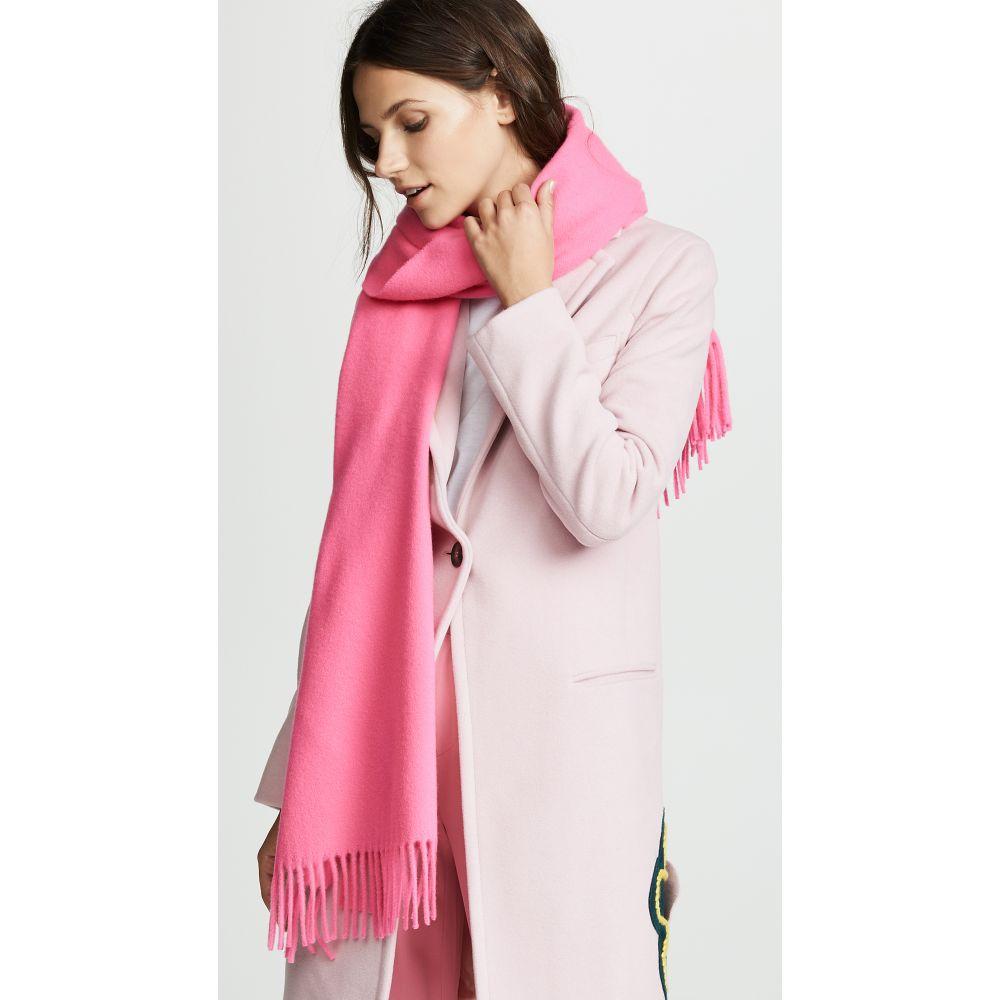 アクネ ストゥディオズ レディース マフラー・スカーフ・ストール【Canada Narrow Scarf】Pink/Fluo Pink