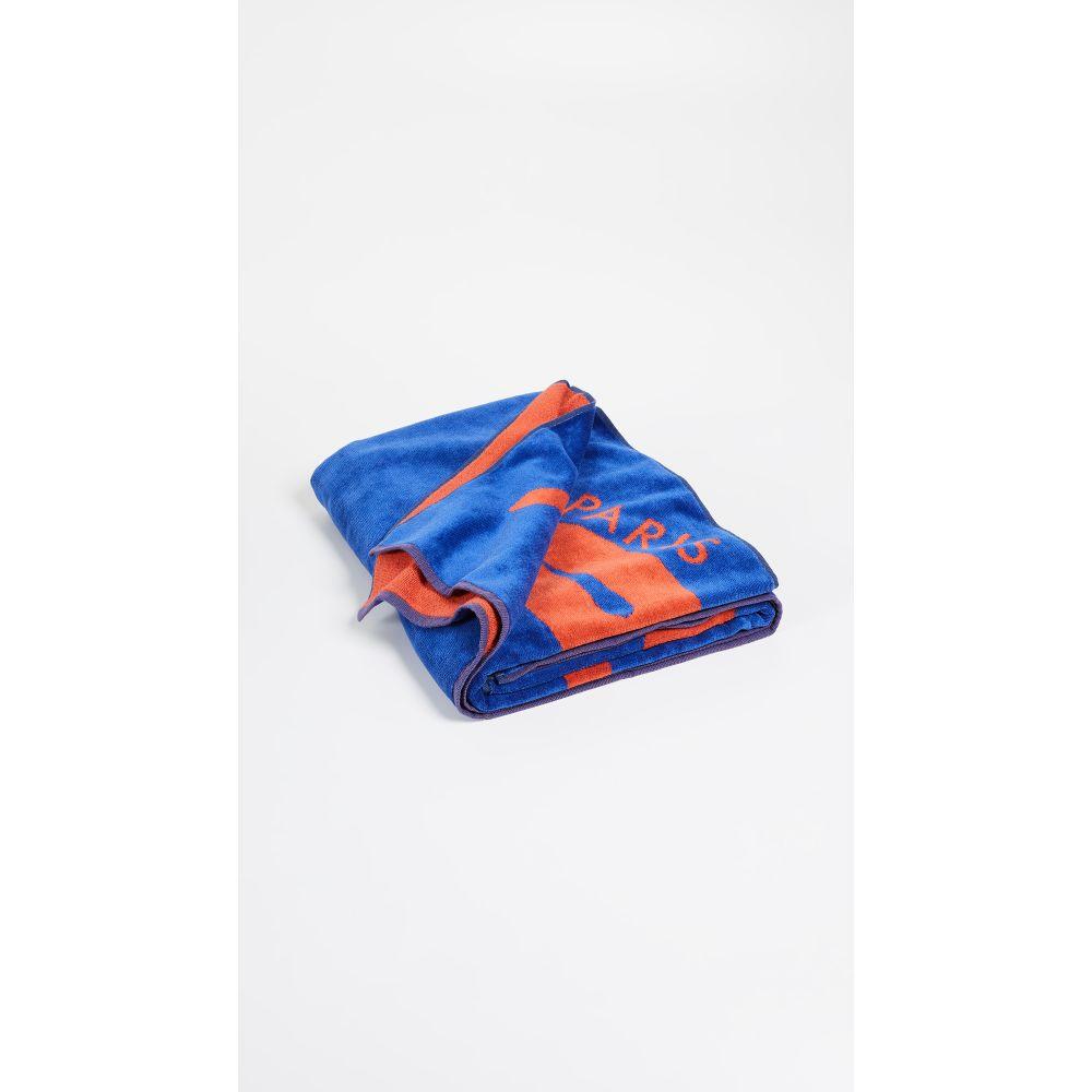 ケンゾー レディース 水着・ビーチウェア ビーチタオル【Signature Beach Towel】French Blue