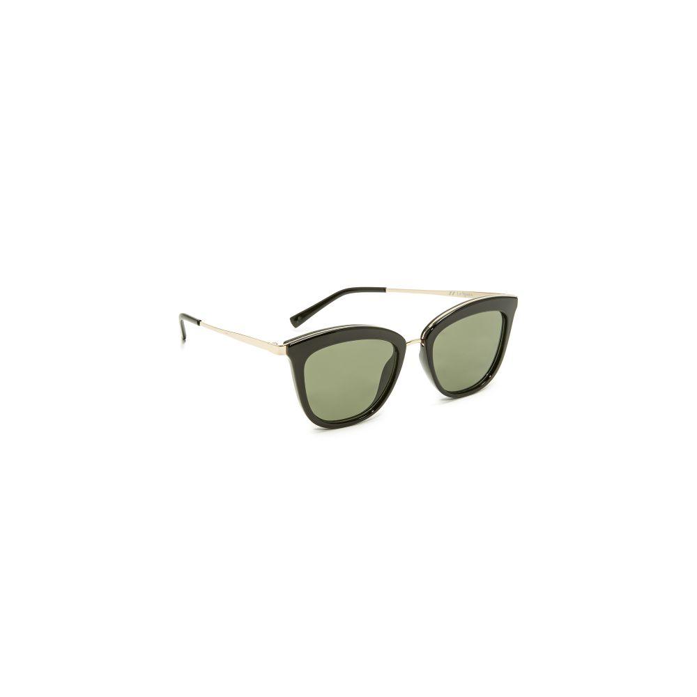 ル スペックス レディース メガネ・サングラス【Caliente Sunglasses】Black/Khaki Mono