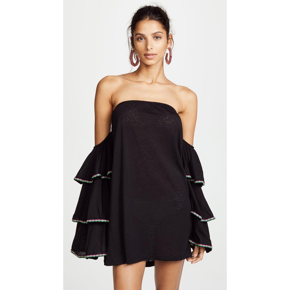 ピトゥサ レディース 水着・ビーチウェア ビーチウェア【Latina Dress】Black