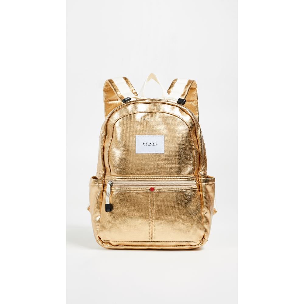 ステート レディース バッグ バックパック・リュック【Mini Kane Backpack】Gold