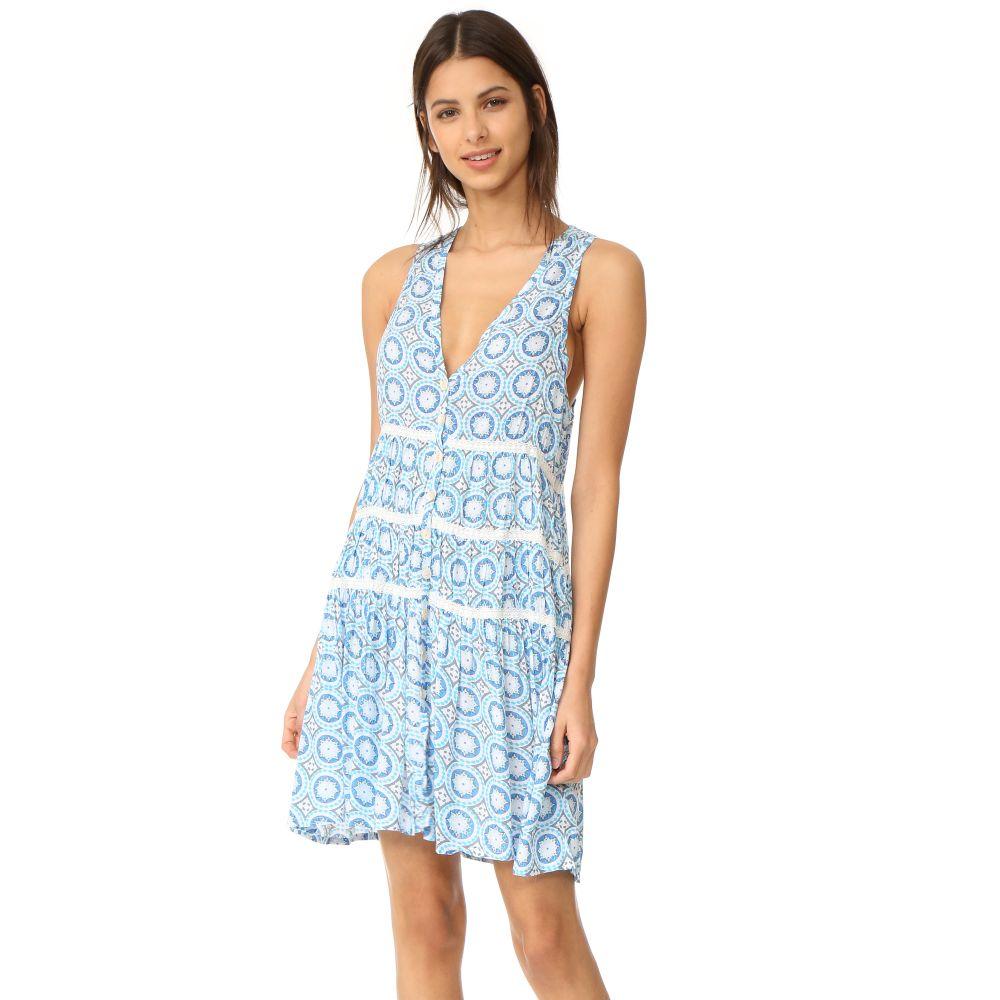 ティアレ ハワイ レディース 水着・ビーチウェア ビーチウェア【Light House Mini Dress】Blue Stellar Print